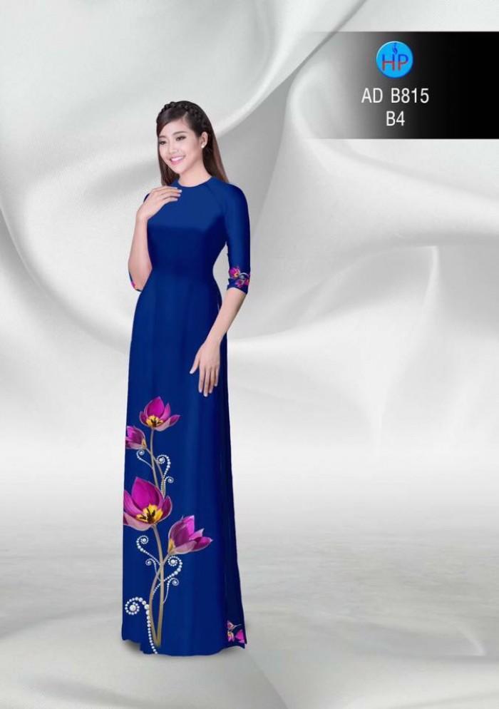Vải áo dài hoa đẹp9