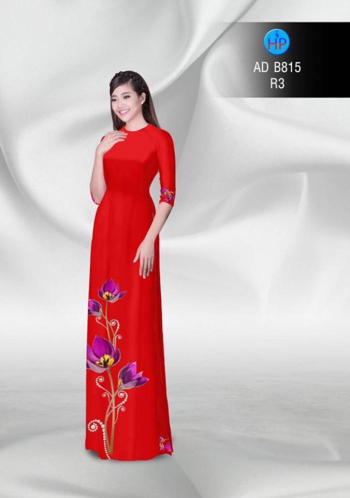 Vải áo dài hoa đẹp16