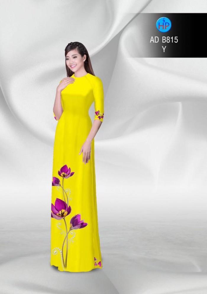 Vải áo dài hoa đẹp18