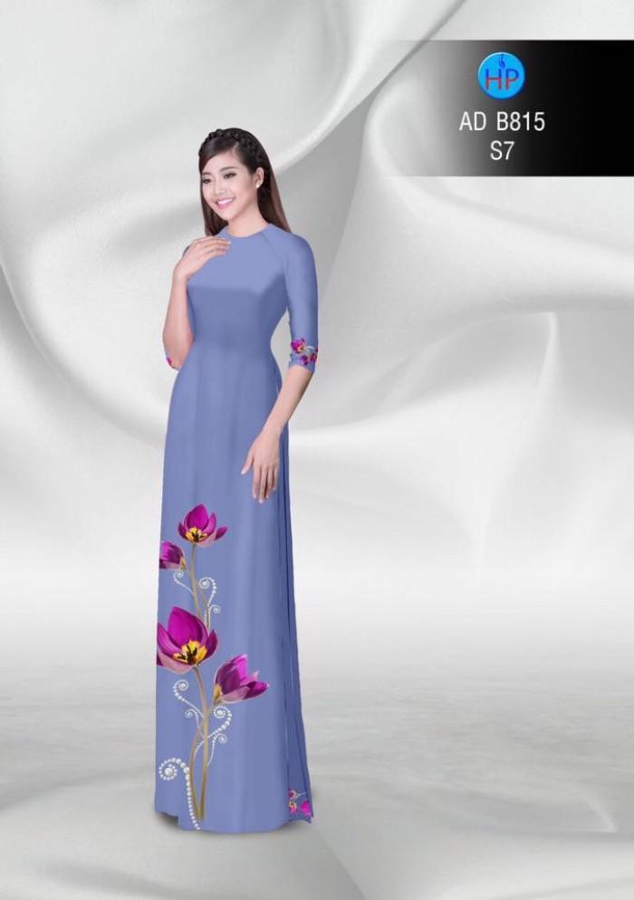 Vải áo dài hoa đẹp21