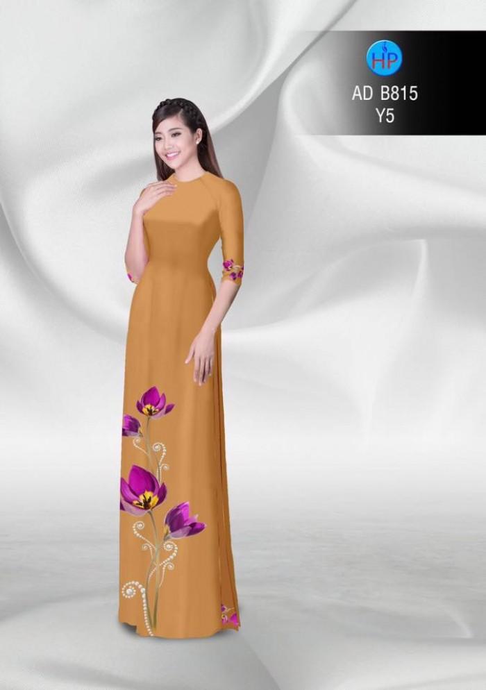 Vải áo dài hoa đẹp23