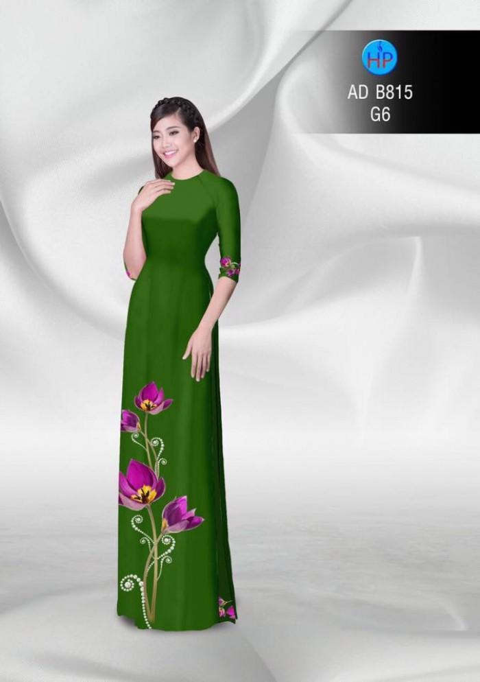 Vải áo dài hoa đẹp25