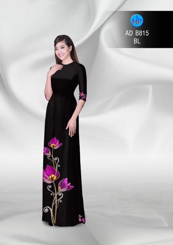 Vải áo dài hoa đẹp26