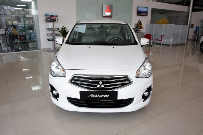 Mitsubishi Motors Đà Nẵng báo giá Attrage nội thất rộng rãi nhiều tiện nghi và công nghệ an toàn mới với giá hấp dẫn