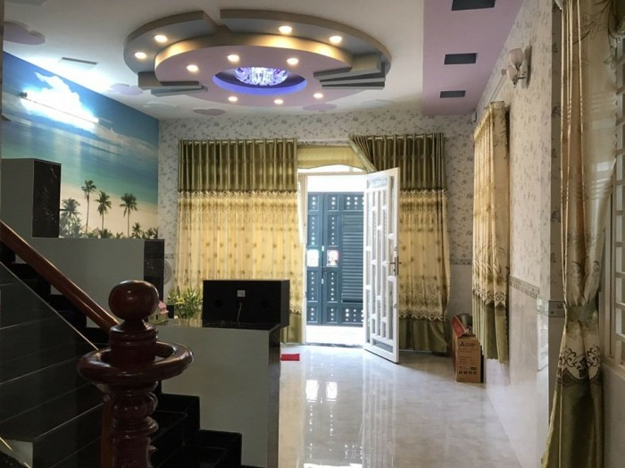 Nhà đúc 2 lầu hẻm 1185 Lê Văn Lương, Phước Kiển