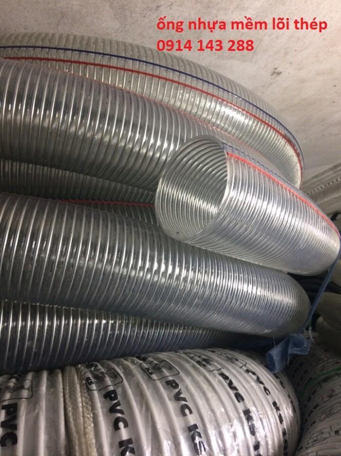 Ống nhựa mềm lõi thép, ống dẫn xăng dầu giá tốt