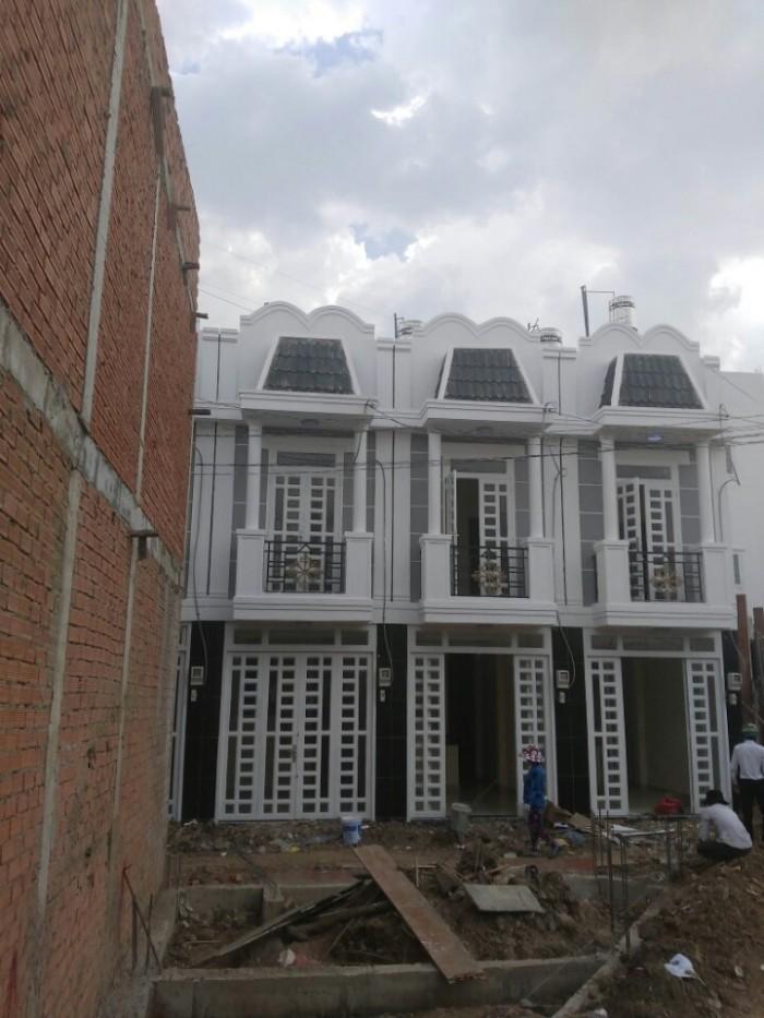 Bán nhà mới nguyên căn đường Thạnh Xuân 21,Q12,diện tích sàn 54m2,giá chỉ 850tr