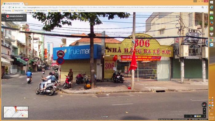 Bán nhà 2 mặt tiền 306 Nguyễn Thị Minh Khai quận 3 giá 298 tỷ