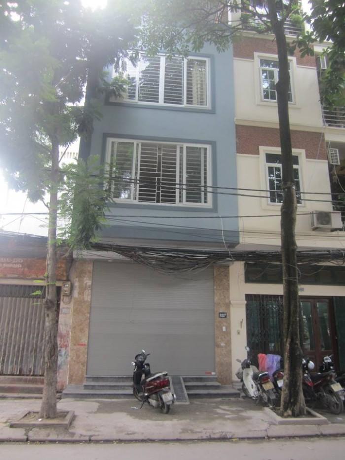 Bán nhà mặt phố Hồ Văn Chương, Đống Đa 40m2x5T giá 6.5 tỷ.