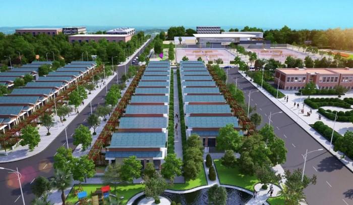 Đất nền dự án Gia Long River Town có tổng diện tích 54,458m2…