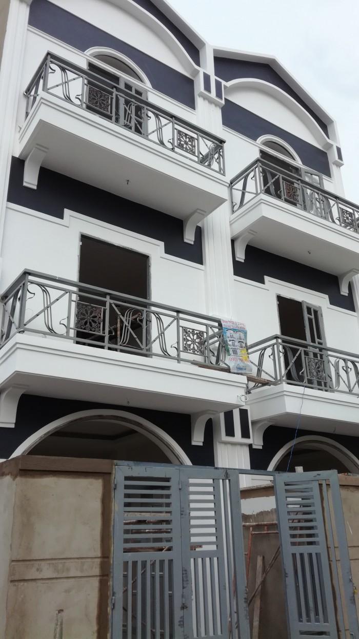 Nhà bán 3 tầng đường Nguyễn Văn Tạo mới xây