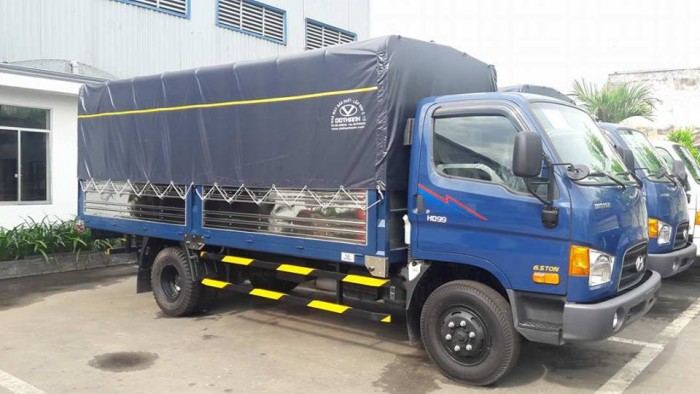 Khuyến Mãi trước bạ Xe tải Hyundai  HD99 6,5 tấn  - xe Hyundai HD99 giá rẻ nhất miền nam