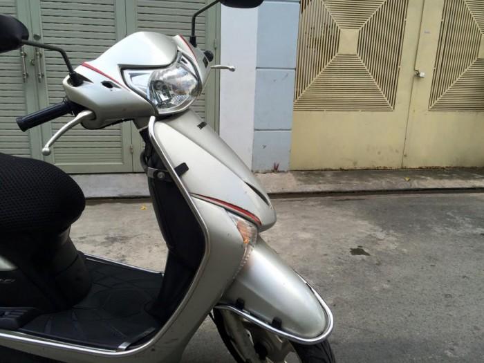 Honda LEAD Fi phun xăng điện tử,màu bạc, xe đẹp,máy êm 19