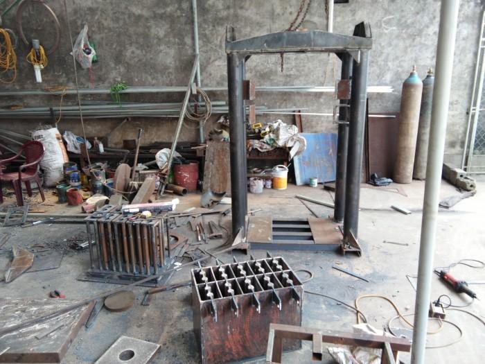 Máy đóng gạch xi măng để sử dụng trong lĩnh vực xây dựng4