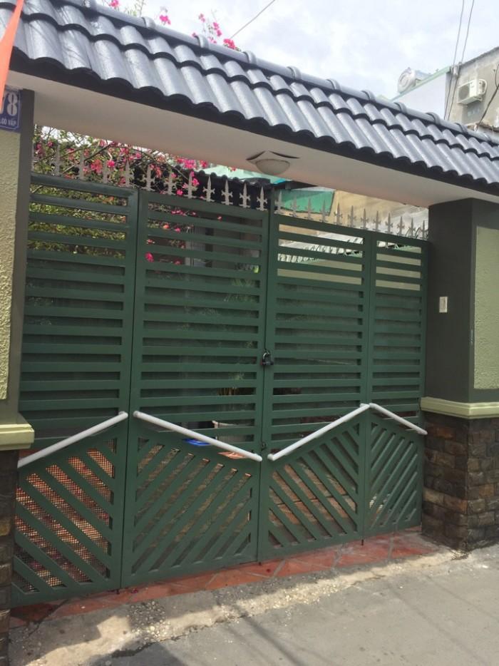 Bán Nhà Đường Quang Trung, Phường 10, Quận Gò Vấp, Hẻm 4m thông, 4 x 27 m, Cấp 4, 3 PN, 3 WC
