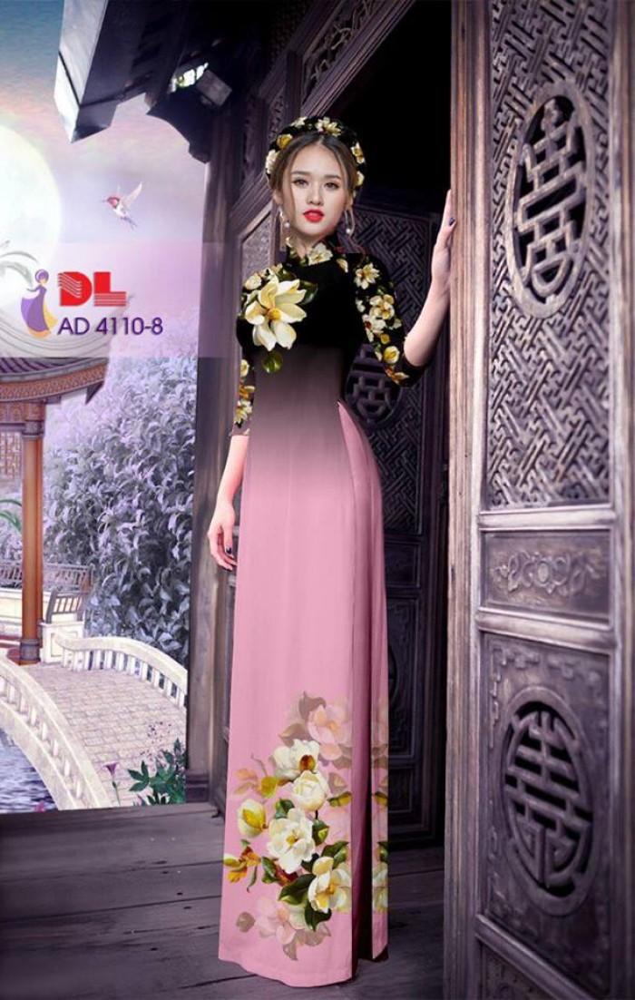 Vải áo dài hoa đẹp6