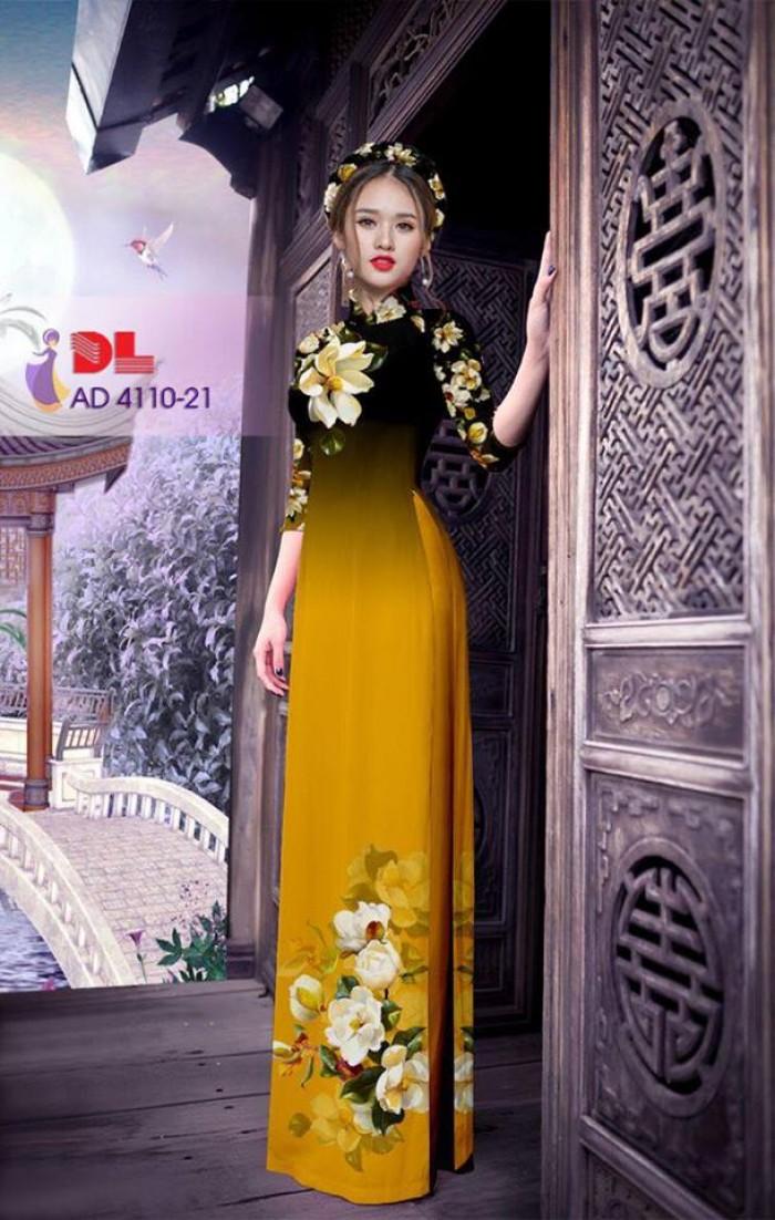 Vải áo dài hoa đẹp13