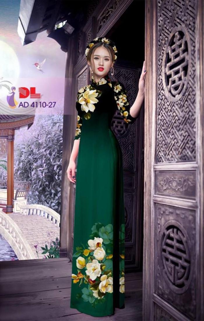 Vải áo dài hoa đẹp14