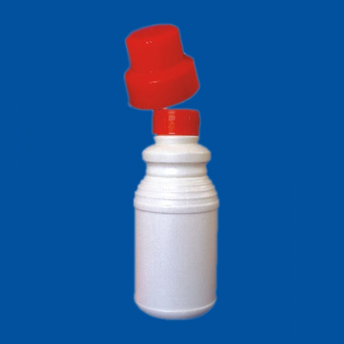 Chai nhựa 2 nắp 8