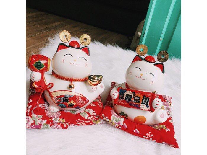 Mèo thần tài Maneki Neko1