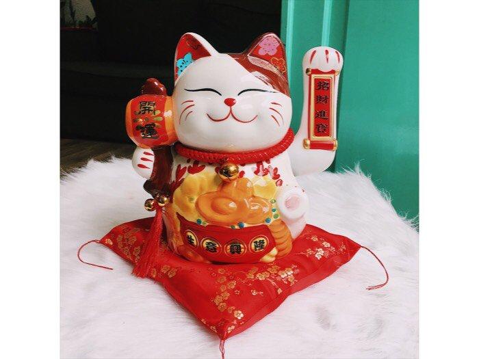 Mèo thần tài mèo maneki neko0