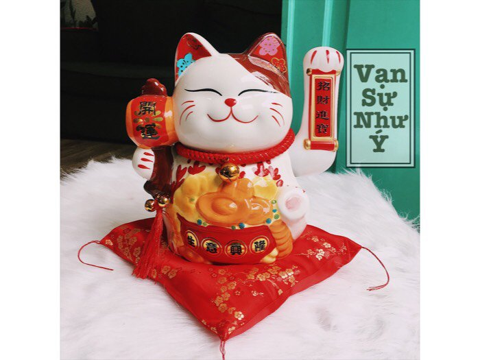 Mèo thần tài mèo maneki neko1