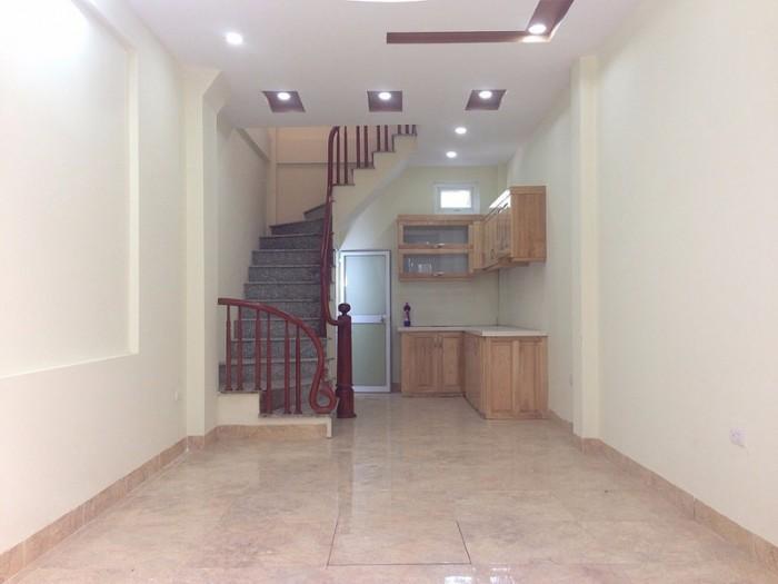 Bán Nhà 4 Tầng đối diện khu đất Dịch Vụ-Đa Sĩ - Kiến Hưng ôtô đậu cửa . (1,73 tỷ)