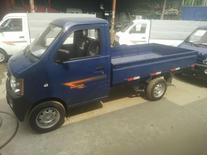Xe tải Dongben 870 kg, thùng dài 2m4 trả góp giá rẻ