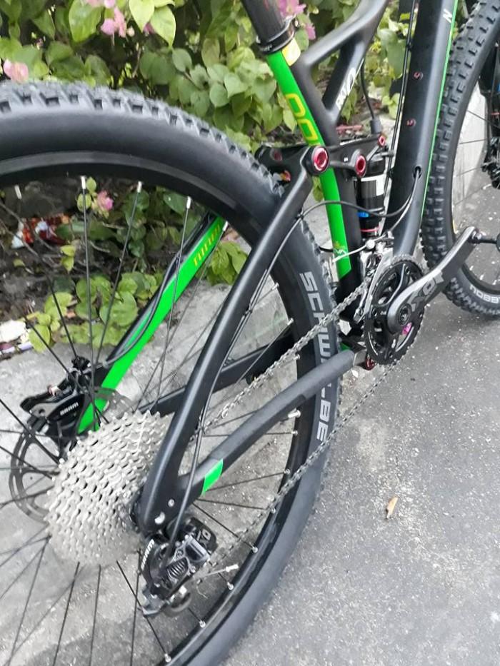 Xe đạp Sport NINER RKT 9RDO cacbon USA 2017