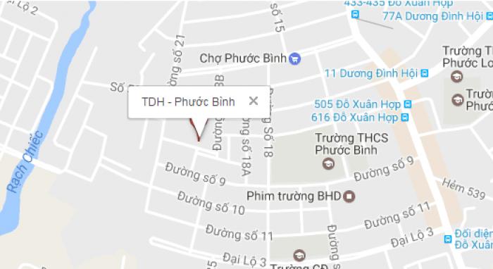 Bán căn hộ chung cư tại dự án tdh – Phước Bình, Quận 9, Hồ Chí Minh diện tích 120m2