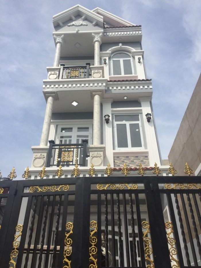 Bán nhà mới đẹp, Đào Tông Nguyên, Nhà Bè,DT 4x18m, 1 trệt 2 lầu gồm 4 PN. Giá 2,9 tỷ
