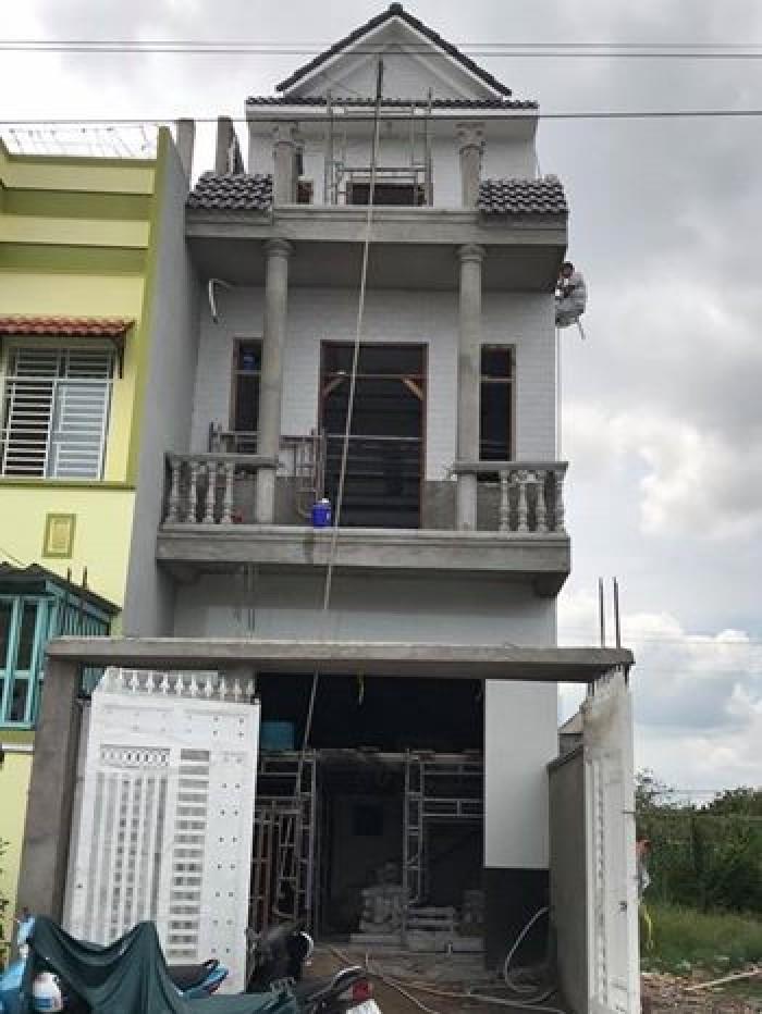 Bán nhà đang hoàn thiện kdc 12ha8, đ.võ văn kiệt, thổ cư 1 trệt 2 lầu 4,5x20m giá 2,2 tỷ.