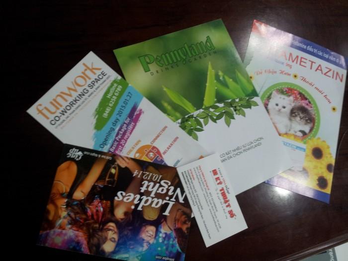 Đa dạng các mẫu thành phẩm tờ rơi được In Tờ Rơi - InToRoi.vn thưc hiện cho khách hàng của mình