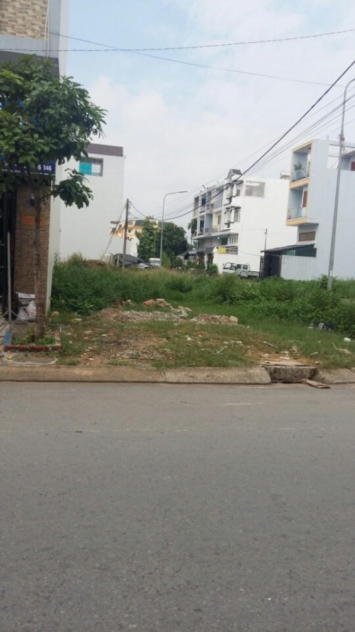 Bán gấp lô đất Hóc Môn 230tr/90m2 đối diện KCN Xuyên Á, sổ hồng riêng, dân đông