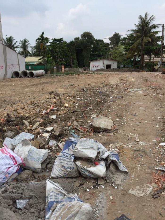 Đất 150m2, đối diện chung cư 4S Linh Đông,mặt tiền lớn tiện kinh doanh.