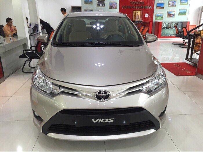 Bán Toyota Vios 1.5E CVT Số tự động, chỉ cần trả trước 170 triệu, khuyến mãi đến 50 triệu