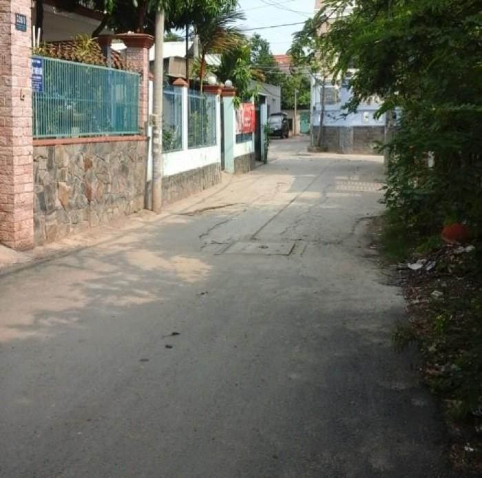 Cho thuê nhà nguyên căn 1 trệt 2 lầu gần ngã tư Bình Triệu 17TR/tháng