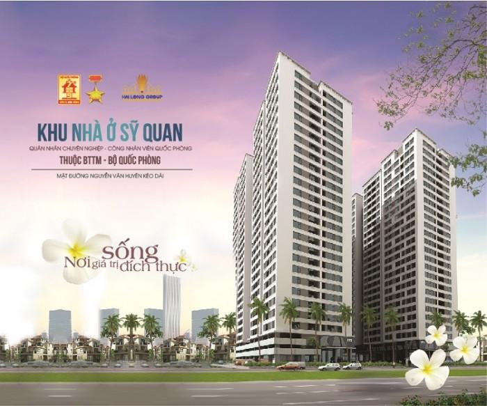Rao bán căn hộ góc đẹp 70m2 tại chung cư Quân đội Xuân Đỉnh, 155 Xuân Đỉnh, Bắc Từ Liêm