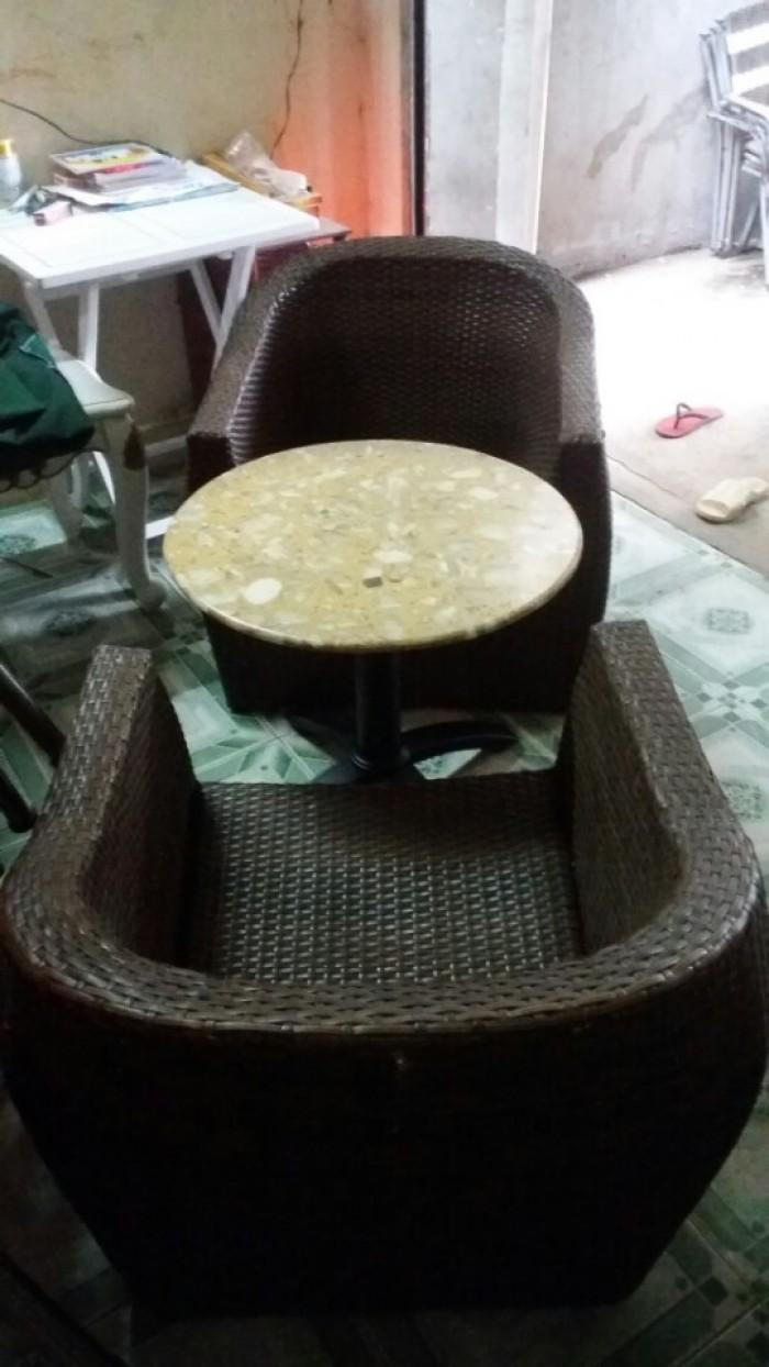 Bàn ghế cafe giá rẻ1