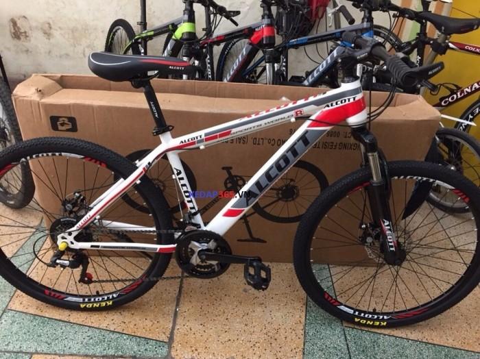 Xe đạp thể thao giá rẻ ALCOTT 26 khung thép không mối hàn 1