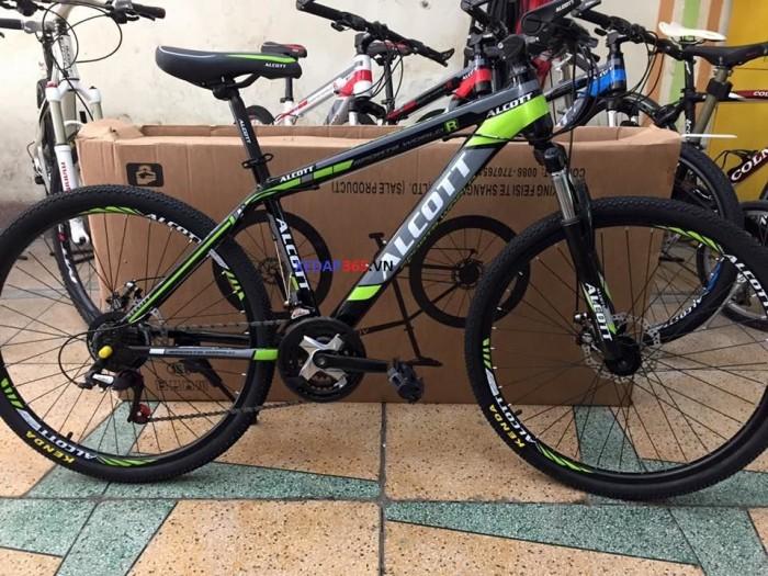Xe đạp thể thao giá rẻ ALCOTT 26 khung thép không mối hàn 0