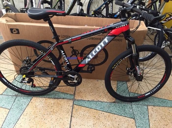 Xe đạp thể thao giá rẻ ALCOTT 26 khung thép không mối hàn 2