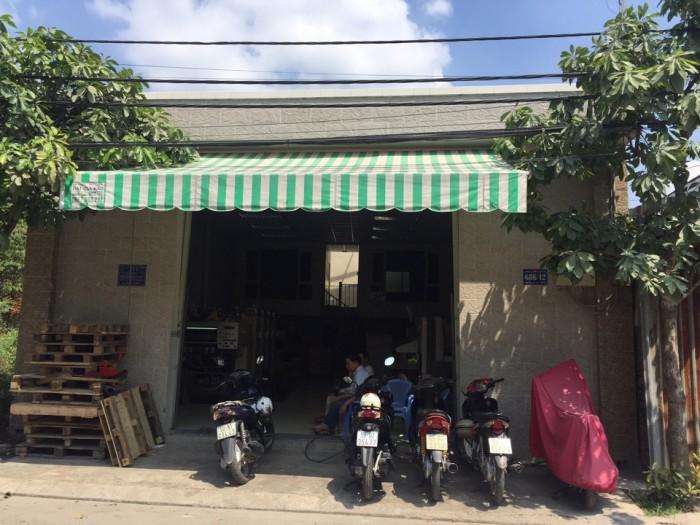 Cần bán nhà xưởng QL1A ,Phường BHHB ,Bình Tân  - DT 8x18m
