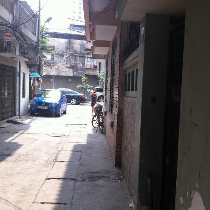 Bán nhà phân lô 5t phố Hồng Mai, ô tô đỗ cửa, tiện ở, làm vp