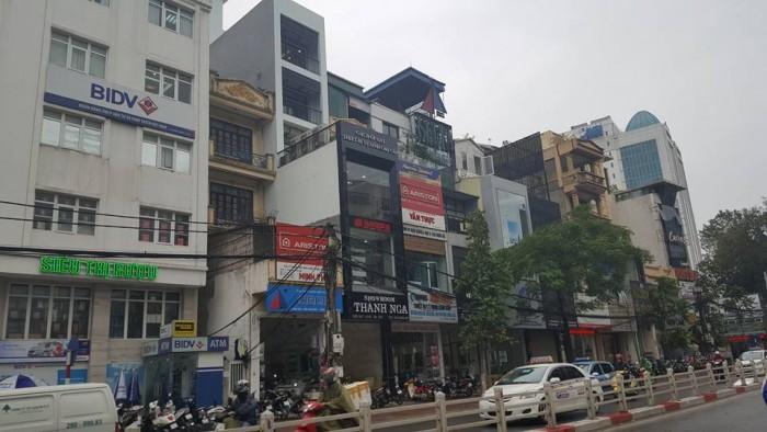 Nhà hiếm mặt phố Cát Linh - Đống Đa dt 180m2, giá 51 tỷ (có thương lượng)!
