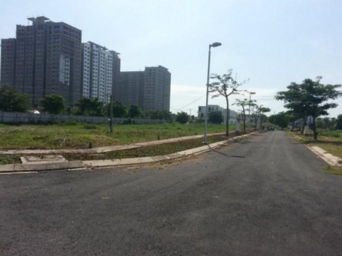 Bán nền đất mặt tiền đường liên phường khu dân cư Điền Phúc Thành Quận 9, 30tr/m2