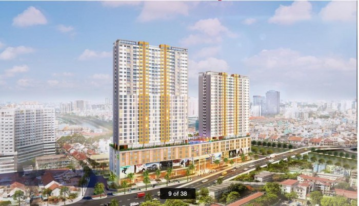 Cần bán căn hộ RG-A04 dự án River Gate, dt 75 m2, hoàn thiện cơ bản
