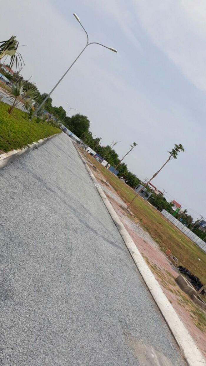Đất thổ cư MT Tỉnh lộ 8,cách cầu vượt Củ Chi 5km, giá chỉ từ 494tr/n SHR-XDTD