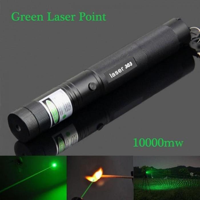 Đèn Pin Laser 303 Công Suất 5W có thể chiếu xa đến 2km - Tặng Kèm Pin Sạc - MSN388144