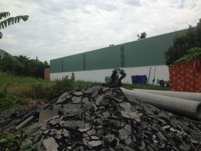Đất rộng đường nhựa 6m làm nhà xưởng